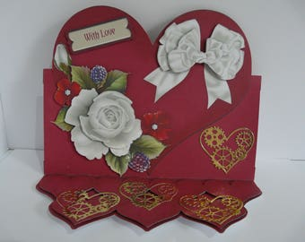 Red Heart and White Roses/Steampunk