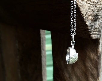 Acorn necklace - sterling silver acorn necklace