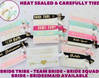 Hen Party Wrist Bands - Favours - Hen Party Bags ideas - Bachelorette Party Bags - Hair Ties - Bachelorette Party Favors - Bridal Shower