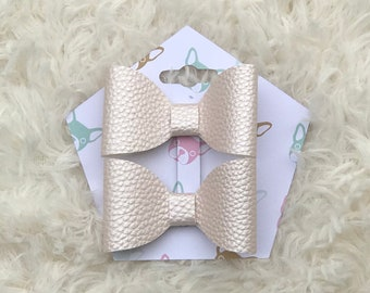 Pink Pearl Bow set