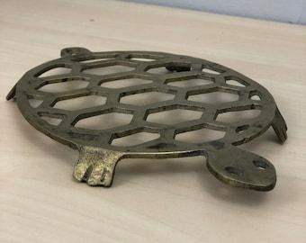 Brass Turtle Trivet