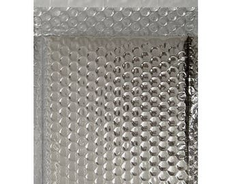 X 1 envelope A silver bubble shiny IDEAL shipping gift