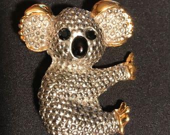 Brooch Koala Bear Pin
