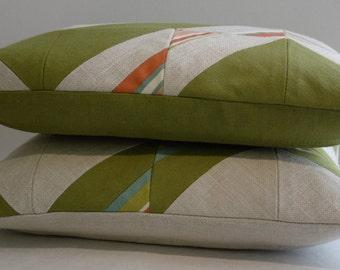 Chevron cushion