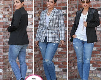 Simplicity Sewing Pattern 1066 Misses' Lined Jacket Mimi G Collection