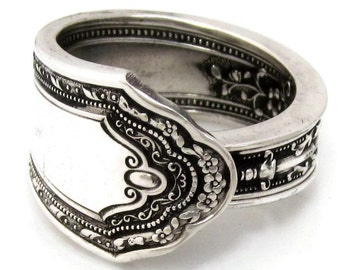Spoon Ring Romance Antique