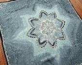 Slate Blue Star Mandala -...