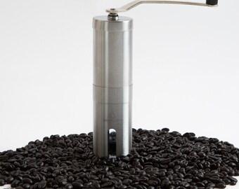 Coffee Grinder, Manual Ceramic Burr Grinder