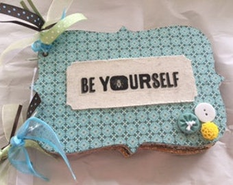 Be Yourself Photo Book