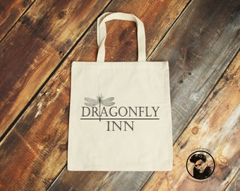 Dragonfly Inn, Stars Hollow, Gilmore Girls, Gilmore Girls Gifts, Lorelai Gilmore, Sookie St James, Hand Crafted Tote Bag, Fiver Friday