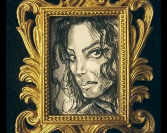 Framed Original - Michael Jackson