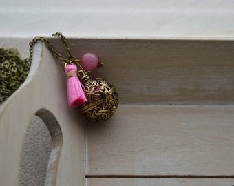 Pregnancy's Bola, your pink rhodonite bead