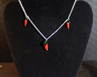 Chili Pepper Necklace