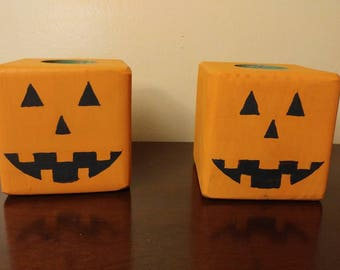 Pair of tea candle holders
