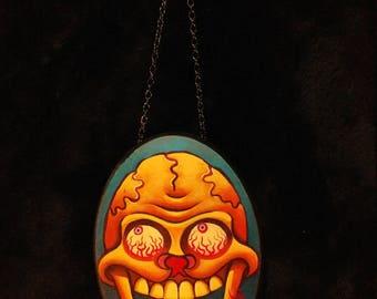 bloodshot skull
