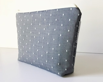 project bag -- swiss chambray