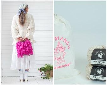 Loopy Mango DIY Kit - Mini Market Fringe Bag - Big Cotton