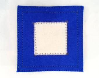 Nautical signal flag P coaster