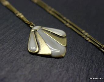 Art deco Theodora, pendant, necklace pendant