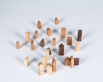Wood - Wood Magnet magnet-House