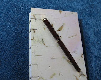 Yellow Slim-line Writing or Sketch Travel Journal.  Item #1022