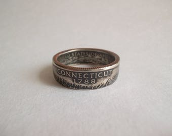 CONNECTICUT State Quarter Ring USA