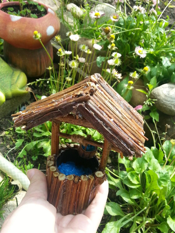 Fairy Garden Wishing Well Fairy garden well miniature well
