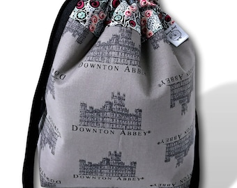 At the Abbey - A One Skein Project Bag for Knitting, Crochet, or Cross Stitch