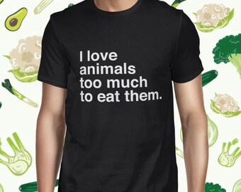 Animal Welfare T-shirt - Animal Rights Shirt for Men - Vegan T Shirt - Animal Love - Plant-based Tee - Vegetarian Statement Shirt for Men