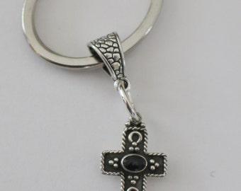 Sterling Südwesten Kreuz Schlüsselanhänger, Schlüsselanhänger - Western, religiösen