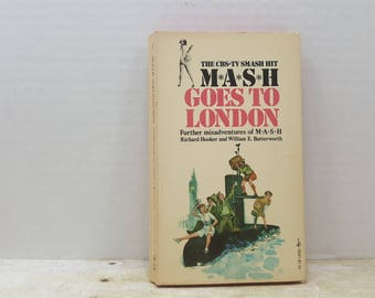 MASH  Goes To London, 1975, tv series, vintage book