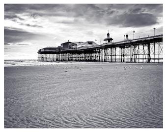 North Pier on Blackpool Beach