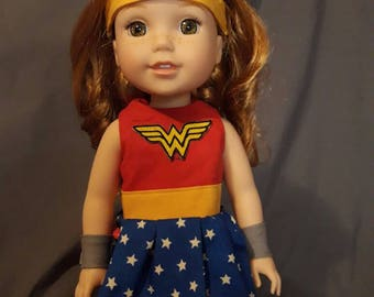 Wellie Wisher Wonder Woman costume