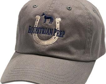 Equestrian Prep Horseshoe Cap