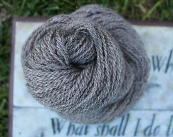 Pebble DK ~70/15/15 Corriedale/CVM/Angora 150 yards Worsted Millspun