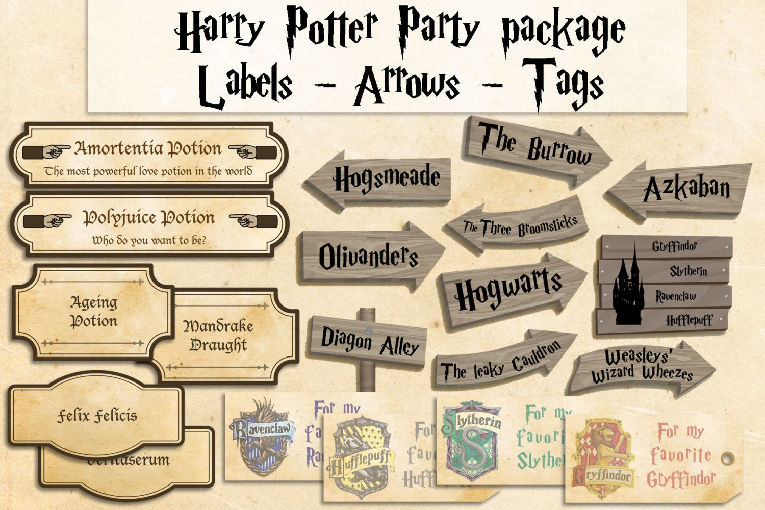 Harry Potter Party Decorations Canada