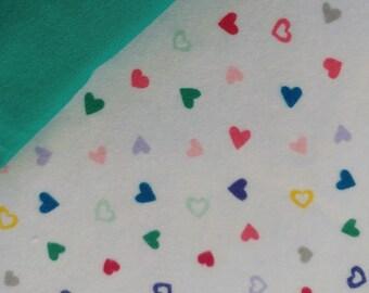Rainbow Hearts Cloth Training Pants for Potty Training