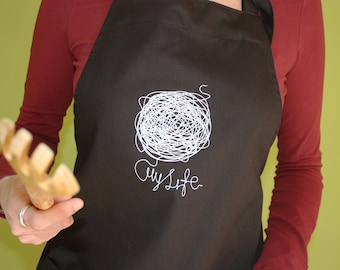 My Life Apron with pockets