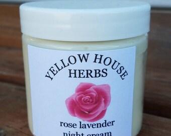 Rose Lavender Night Cream