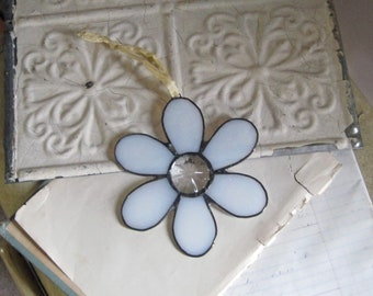 Stained Glass Flower Suncatcher Mother's Day Gift