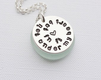 Adoption - Foster - Personalised Sterling Silver Handstamped Necklace