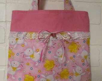 Easter/Spring Purse, Gift bag, Totes, Kids Totes, Little Girls Purse, Purses, Kids purse, Candy Bag, Easter Basket, Spring Purse, Easter