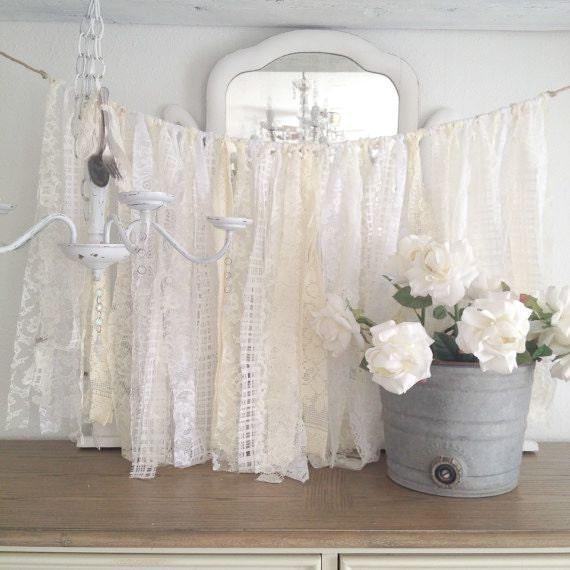 Items Similar To Lace Wedding Garland Shabby Chic Wedding