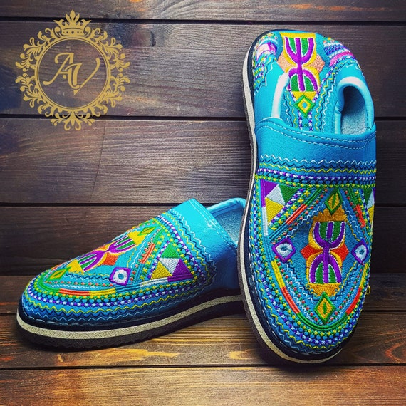 style Fashion Moroccan Babouche From Berber Mules Handmade Leather Slippers Babouche Traditional Moroccan Leather Shoes Morocco Handmade wgUSwq