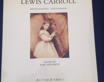 LEWIS CARROLL: Photographien / PHOTOGRAPHS hardcover / text in English & German