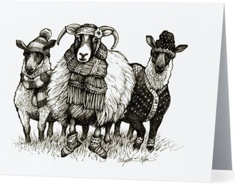 Notecards for Knitters- 4 designs