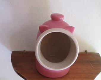 Pink Piggy ceramic candle burner.