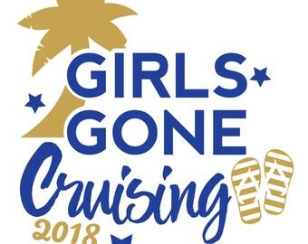 Girls Gone Cruising SVG File