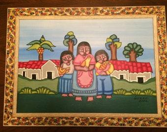 El Salvador Traditional Family
