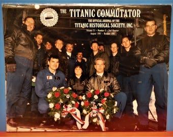TITANIC COMMUTATOR MAGAZINE...Official Publication Of The Titanic Historical Society...2nd Quarter Of 1997